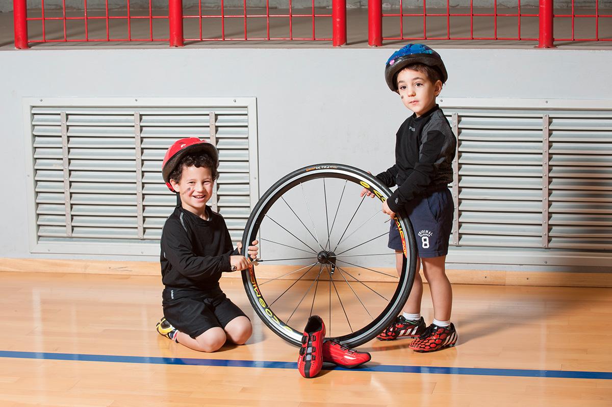 Foto Ottica Ochsbi Bambini ciclisti